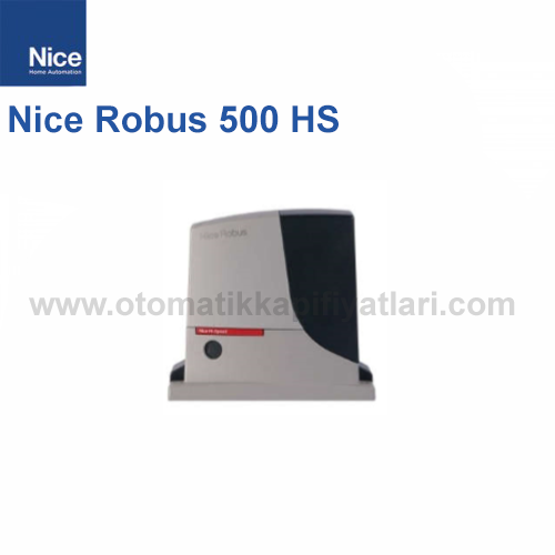 Nice Robus 500 HS  Tek Motor | Yana Kayar Bahçe Kapısı Motoru