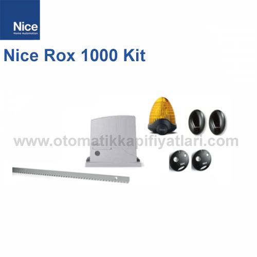 Nice Rox 1000 Kit | Yana Kayar Bahçe Kapısı Motoru