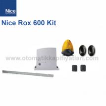 Nice Rox 600 Kit | Yana Kayar Bahçe Kapısı Motoru