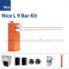 Nice L 9 Bar Kit Otomatik Kollu Bariyer