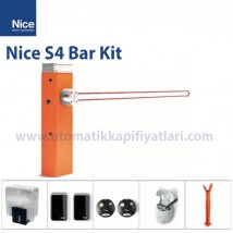 Nice S4 Bar Kit Otomatik Kollu Bariyer