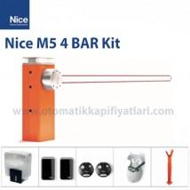 Nice M5 4 Bar Kit Otomatik Kollu Bariyer