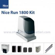 Nice Run 1800 Kit | Yana Kayar Bahçe Kapısı Motoru