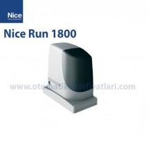 Nice Run 1800 Tek Motor Yana Kayar Kapı Motoru
