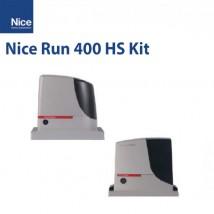 Nice Run 400 HS Kit  Hızlı Garaj Kapısı Motoru