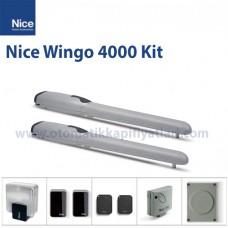 Nice Wingo 4000 Kit Kanatlı Kapı Motoru
